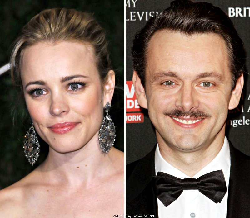 Rachel McAdams and Michael Sheen Kiss in Public