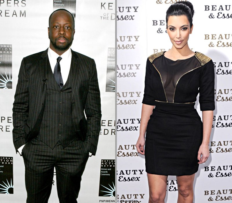 Wyclef Jean and Kim Kardashian Team Up for Haiti