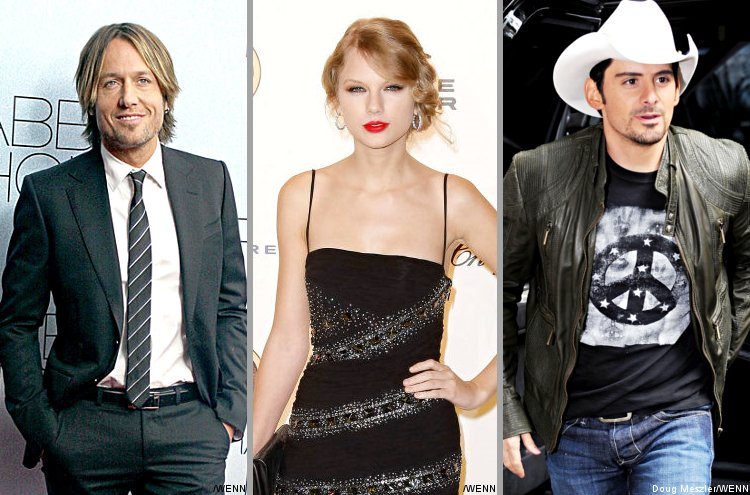 Keith Urban, Taylor Swift, Brad Paisley and More Pose for Charity