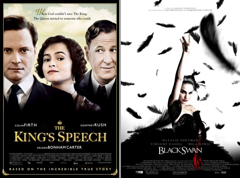'The King's Speech' and 'Black Swan' Lead BAFTAs Longlist