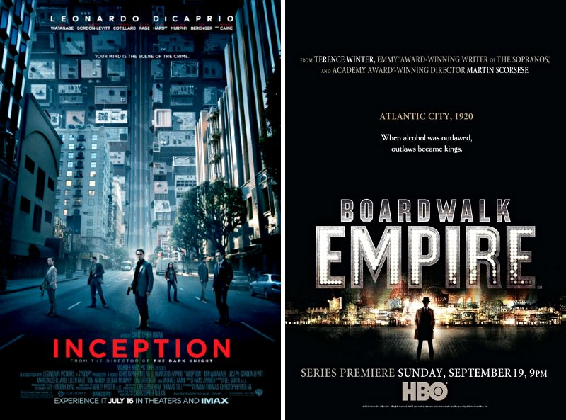 'Inception' and 'Boardwalk Empire' Lead Visual Effect Awards Nominations