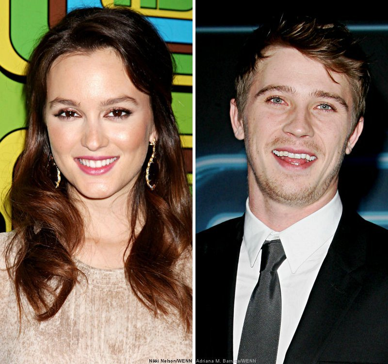 Report: Leighton Meester and Garrett Hedlund Hooking Up at Golden Globes Afterparty