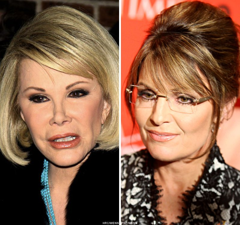 Joan Rivers' TV Show Appearance Not Canceled Due to Sarah Palin Comments