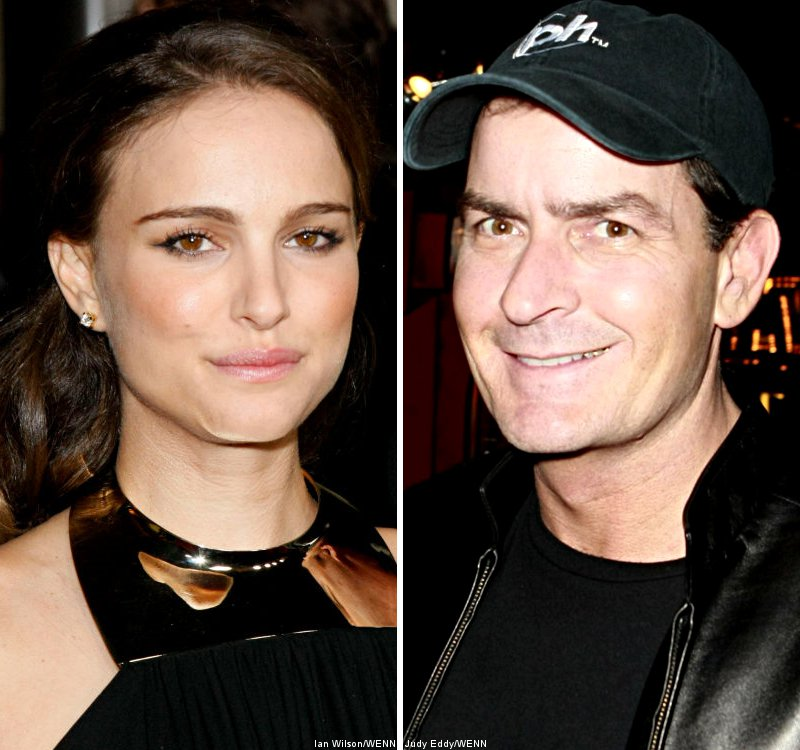 Natalie Portman Most Desirable, Charlie Sheen Least