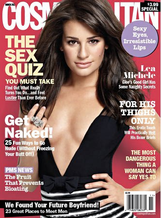 Cosmopolitan Defends Racy Shot of Lea Michele