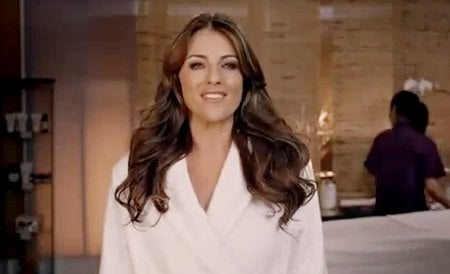 Elizabeth Hurley Under Attack for Super Bowl Ad