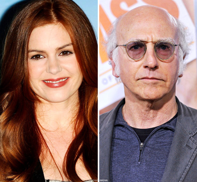 Isla Fisher Had Fashion Mishap After Embraced by Larry David