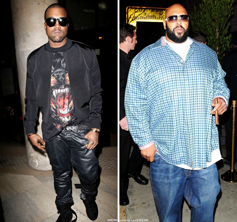 Finally, Kanye West and Suge Knight Reach Settlement