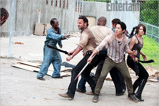 New 'Walking Dead' Season 3 Photos Feature a Fight in Prison