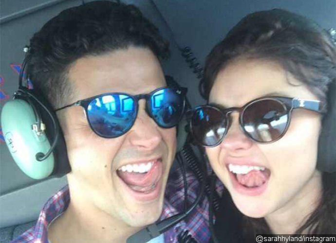Wells Adams Surprises GF Sarah Hyland With a 'Bachelor'-Style Date for Her Birthday