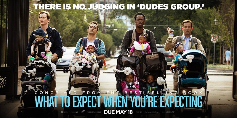 New 'What to Expect When You're Expecting' Trailer Focuses on Baby-Toting Fathers