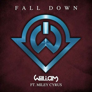 will.i.am Releases New Single 'Fall Down' Featuring Miley Cyrus