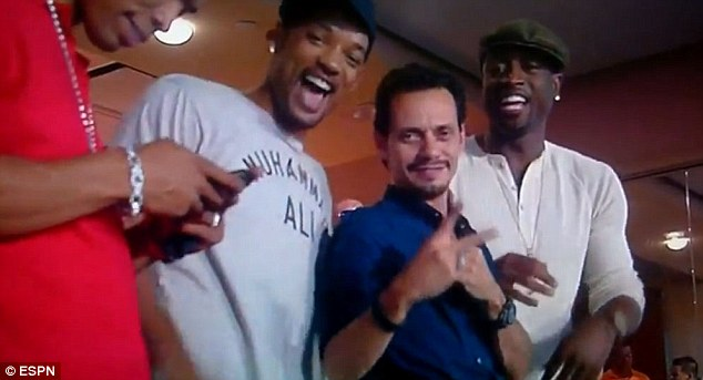 Will Smith and Marc Anthony Bonded Over Football Game
