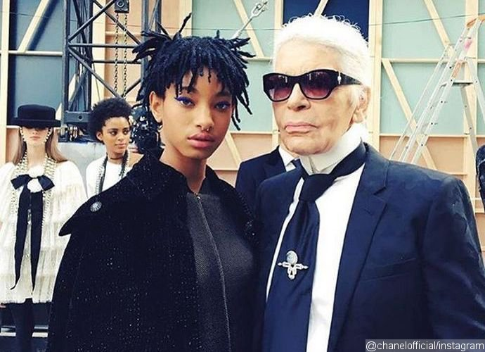 Willow Smith Announced as New Chanel Face by Karl Lagerfeld