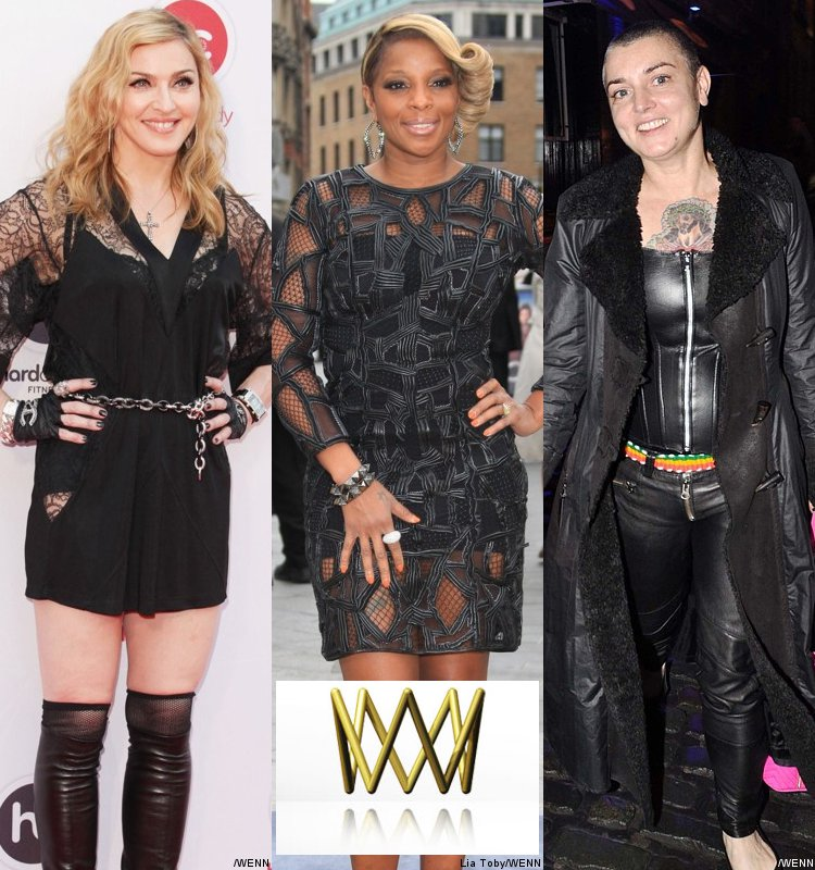 2012 World Soundtrack Award Nominees: Madonna, Mary J. Blige and Sinead O'Connor