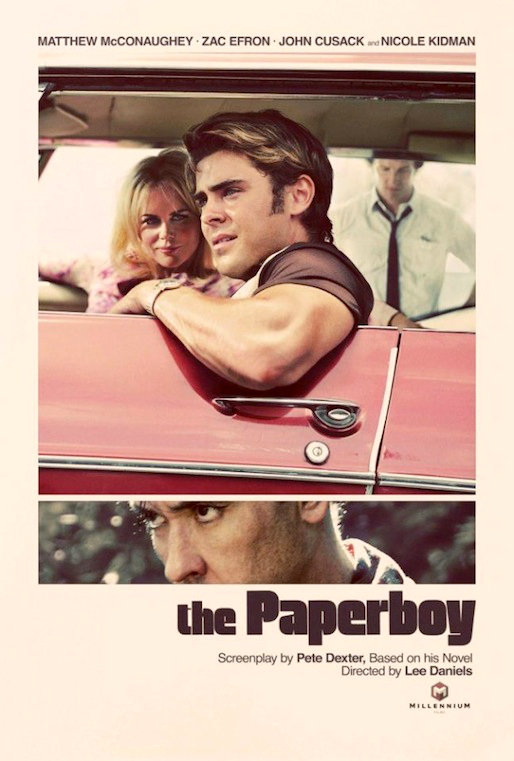 Zac Efron and Nicole Kidman Go Retro in First 'Paperboy' Poster