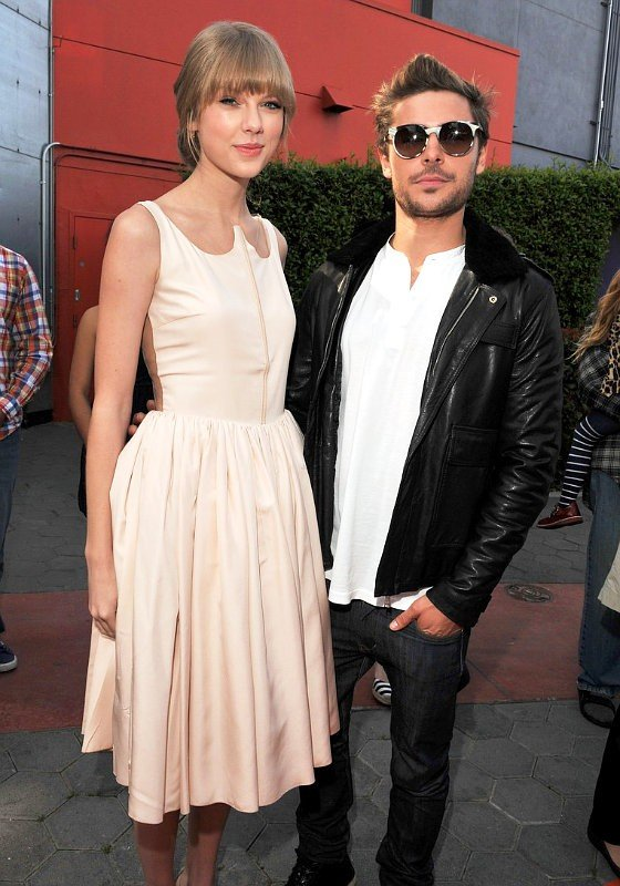 Zac Efron Looks Casual as Taylor Swift Goes Classy Vintage at ...