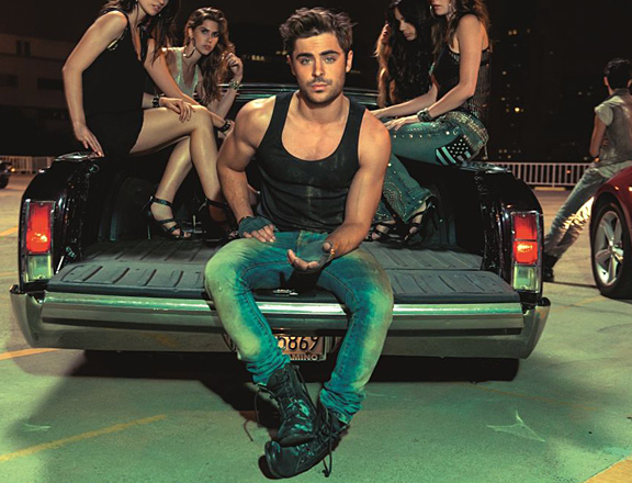 Zac Efron Is Street Racer in John John Denim Ad
