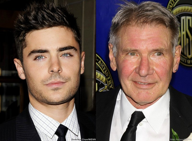 Zac Efron to Bond With Harrison Ford in 'You Belong to Me'