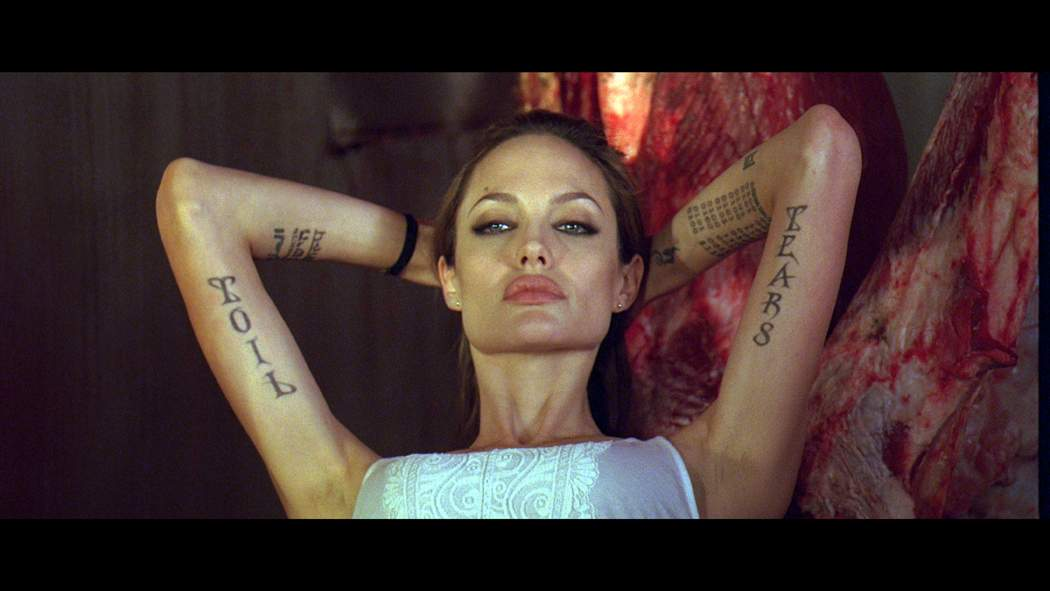 Angelina Jolie as Fox in Universal Pictures' Wanted (2008)