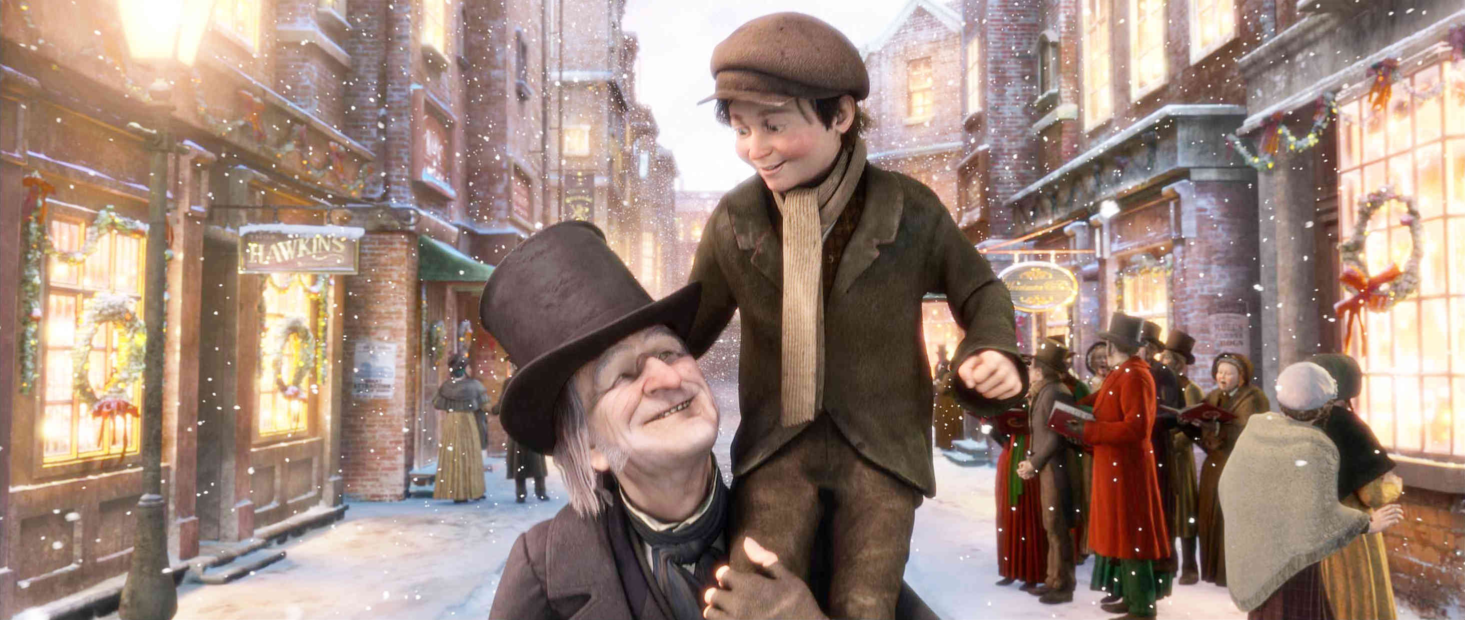 Christmas carol scrooge and redemption