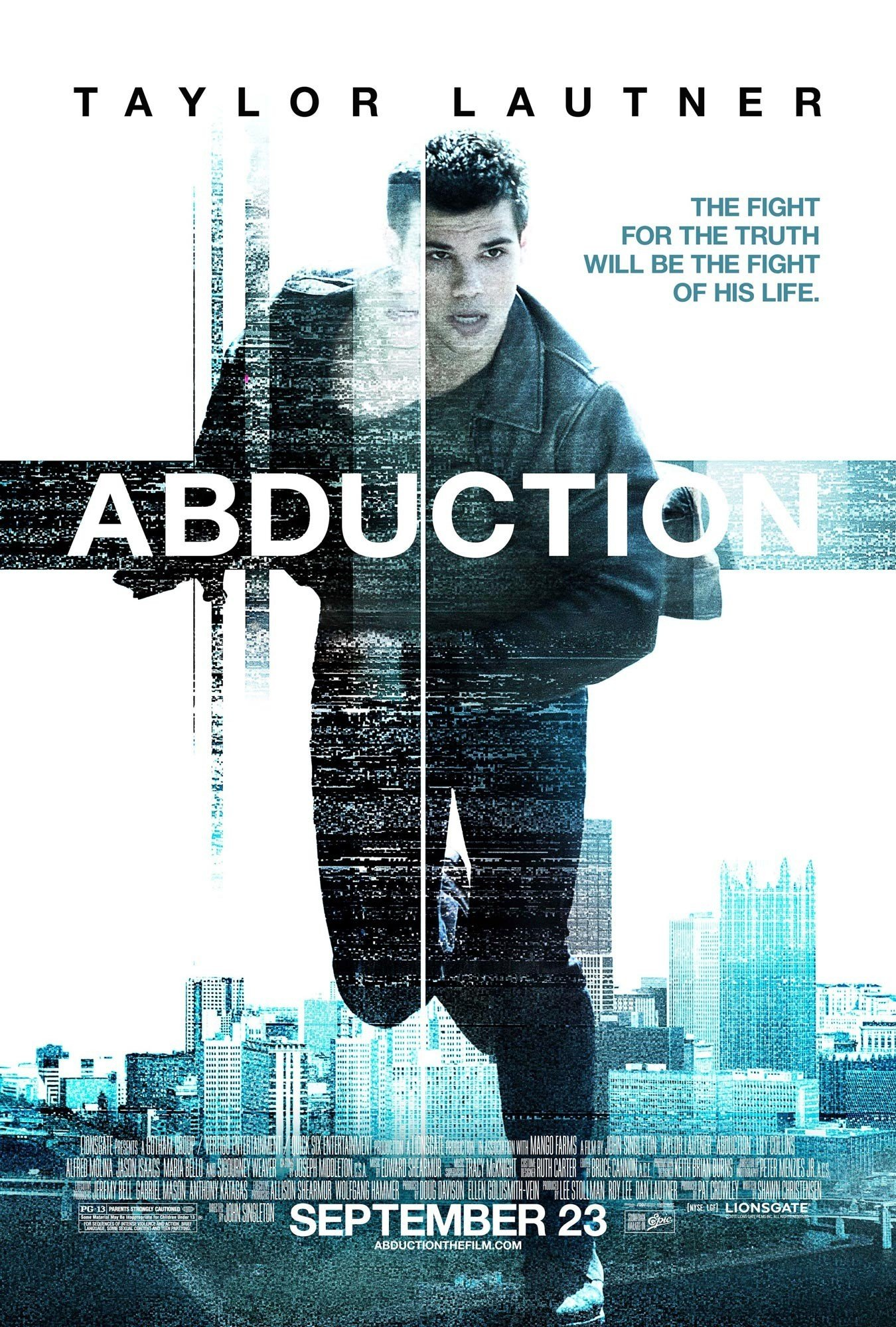 Poster of Lionsgate Films' Abduction (2011)