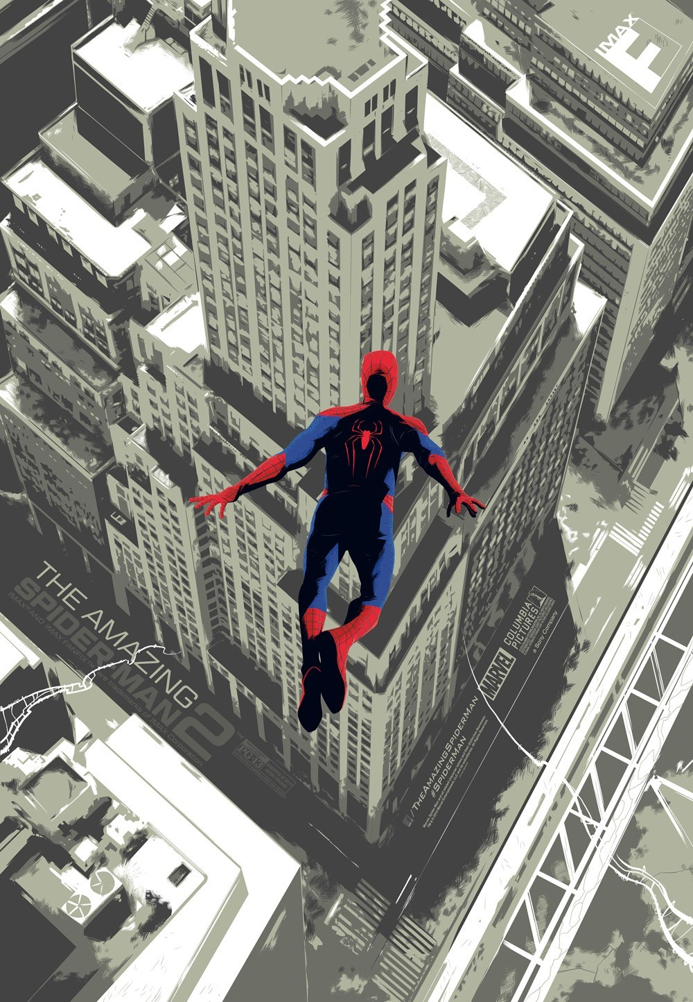 Poster of Columbia Pictures' The Amazing Spider-Man 2 (2014)