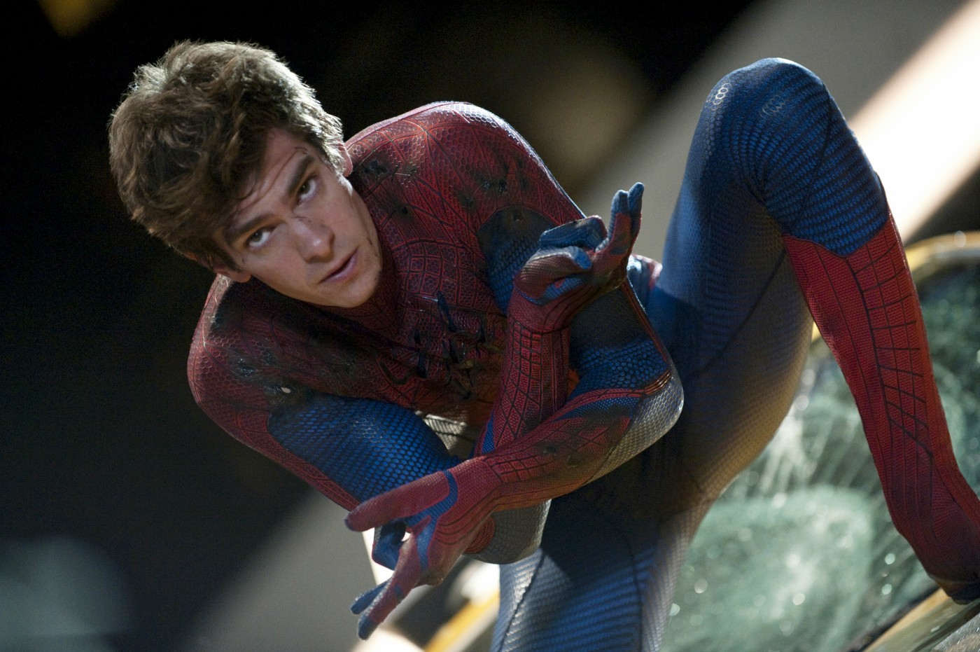 Andrew Garfield stars as Peter Parker/Spider-Man in Columbia Pictures' The Amazing Spider-Man (2012)