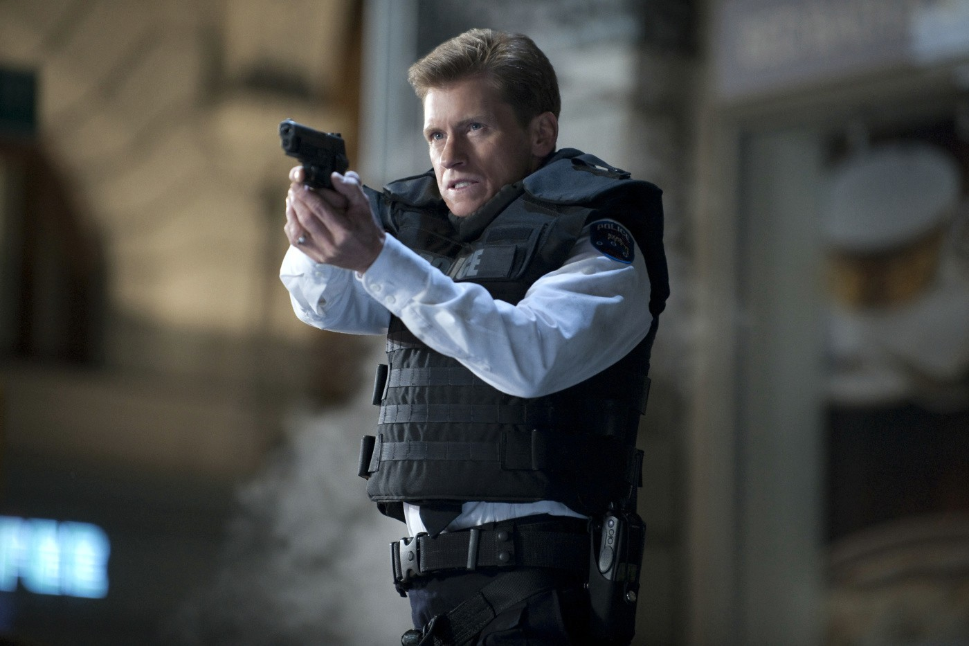 Denis Leary stars as George Stacy in Columbia Pictures' The Amazing Spider-Man (2012)
