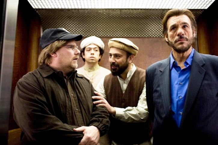 Kevin P. Farley stars as Michael Malone and Robert Davi stars as Aziz in Vivendi Entertainment's An American Carol (2008)