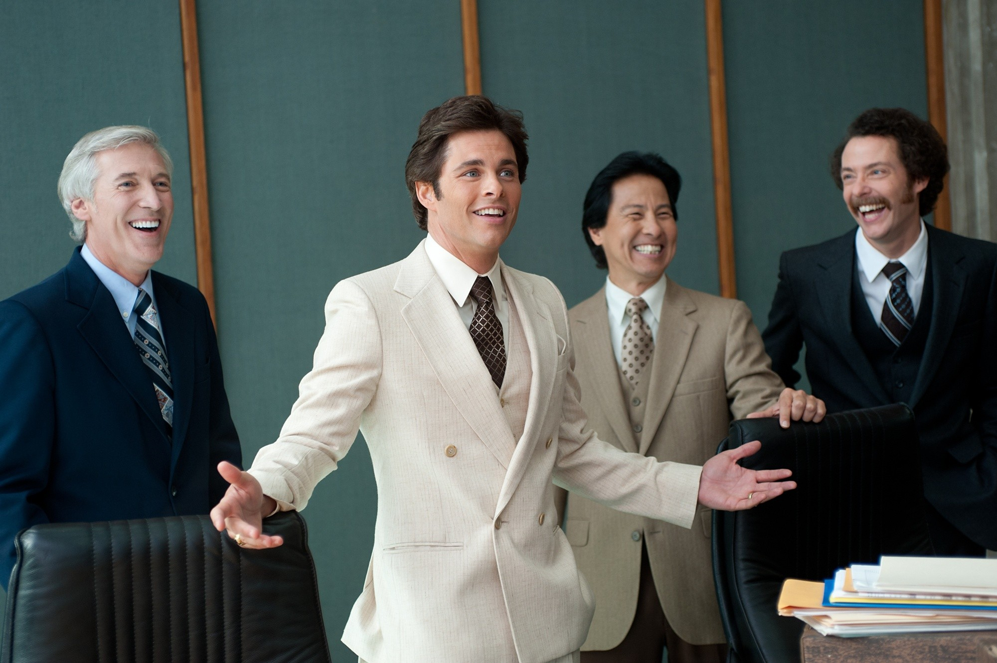 James Marsden stars as Jack Lime in Paramount Pictures' Anchorman: The Legend Continues (2013)