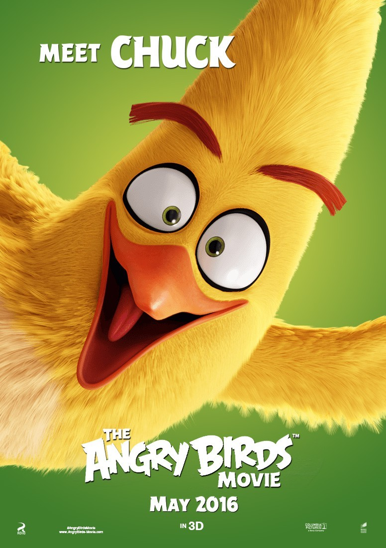 Poster of Columbia Pictures' Angry Birds (2016)