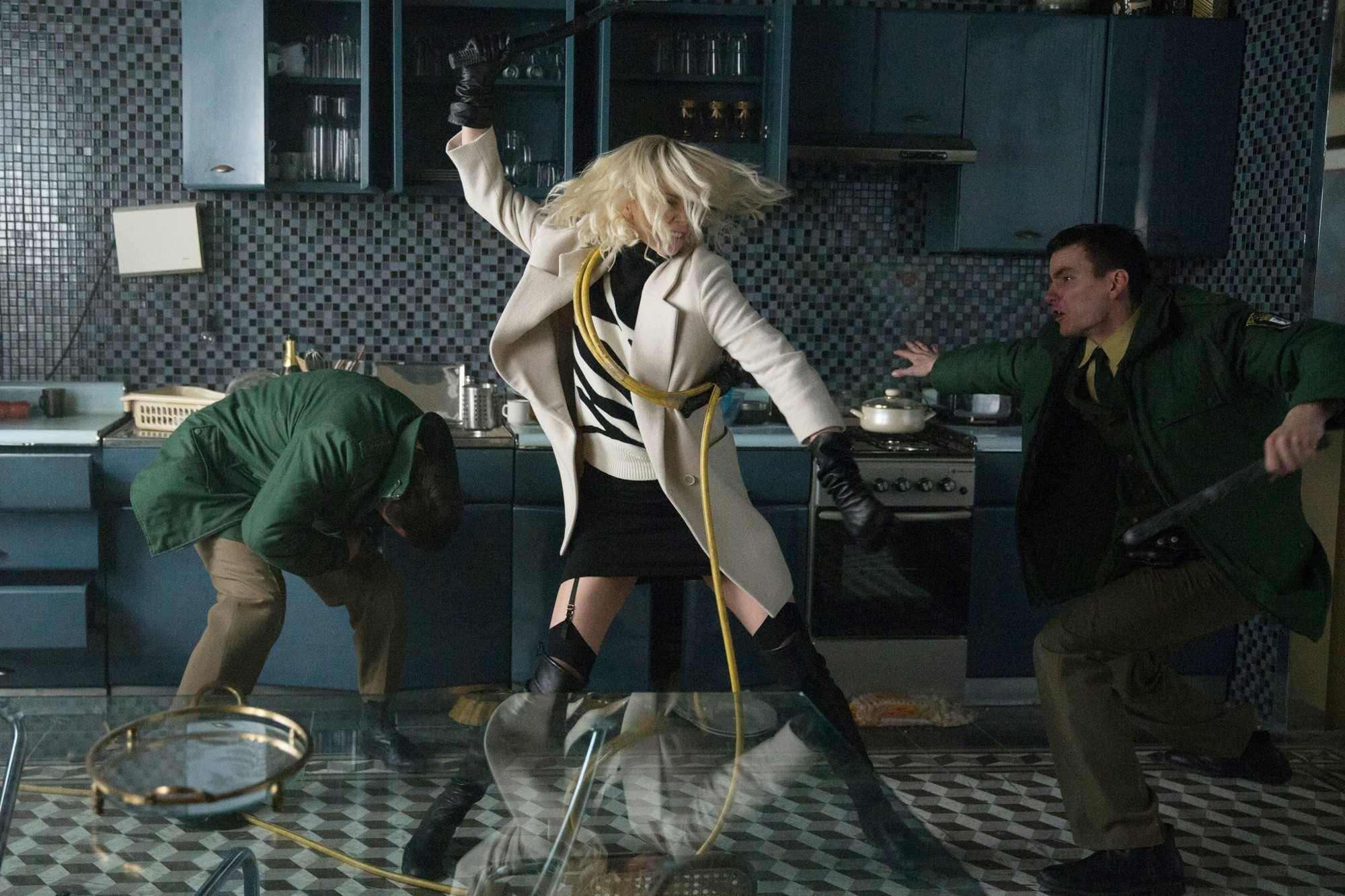 Charlize Theron stars as Lorraine Broughton in Focus Features' Atomic Blonde (2017)