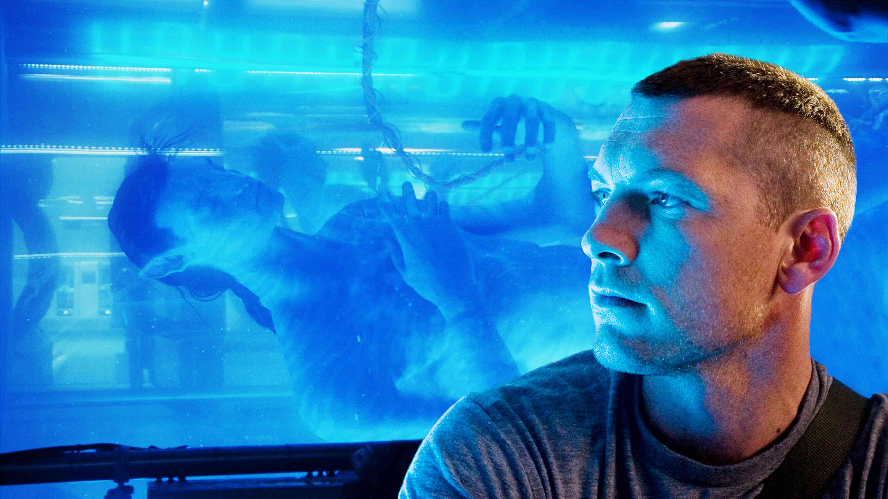 Sam Worthington stars as Jake Sully in The 20th Century Fox's Avatar (2009)