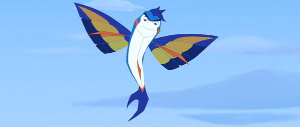 Kevin is a Flying Fish from Viva Pictures' Back to the Sea (2012)