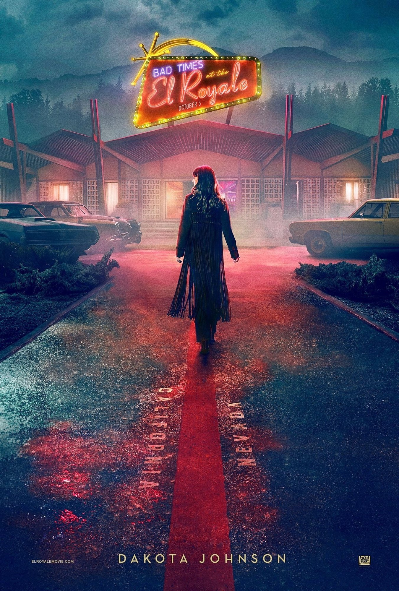 Poster of 20th Century Fox's Bad Times at the El Royale (2018)