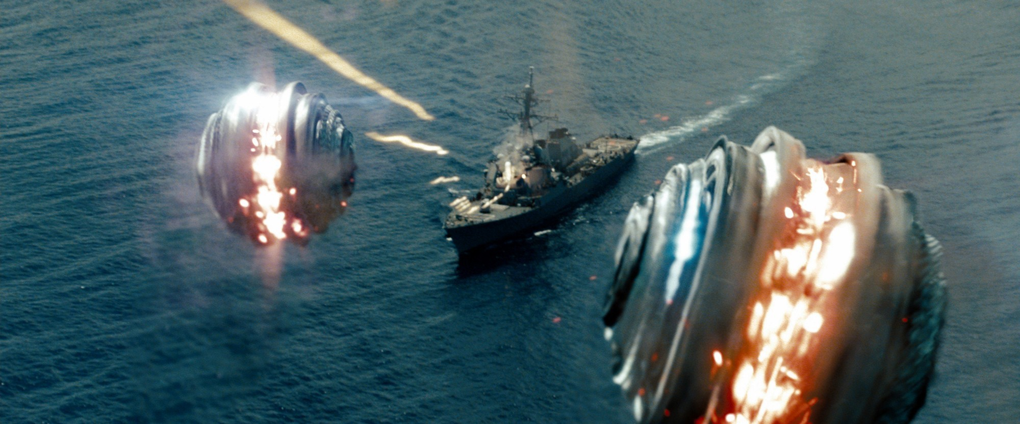 A scene from Universal Pictures' Battleship (2012)