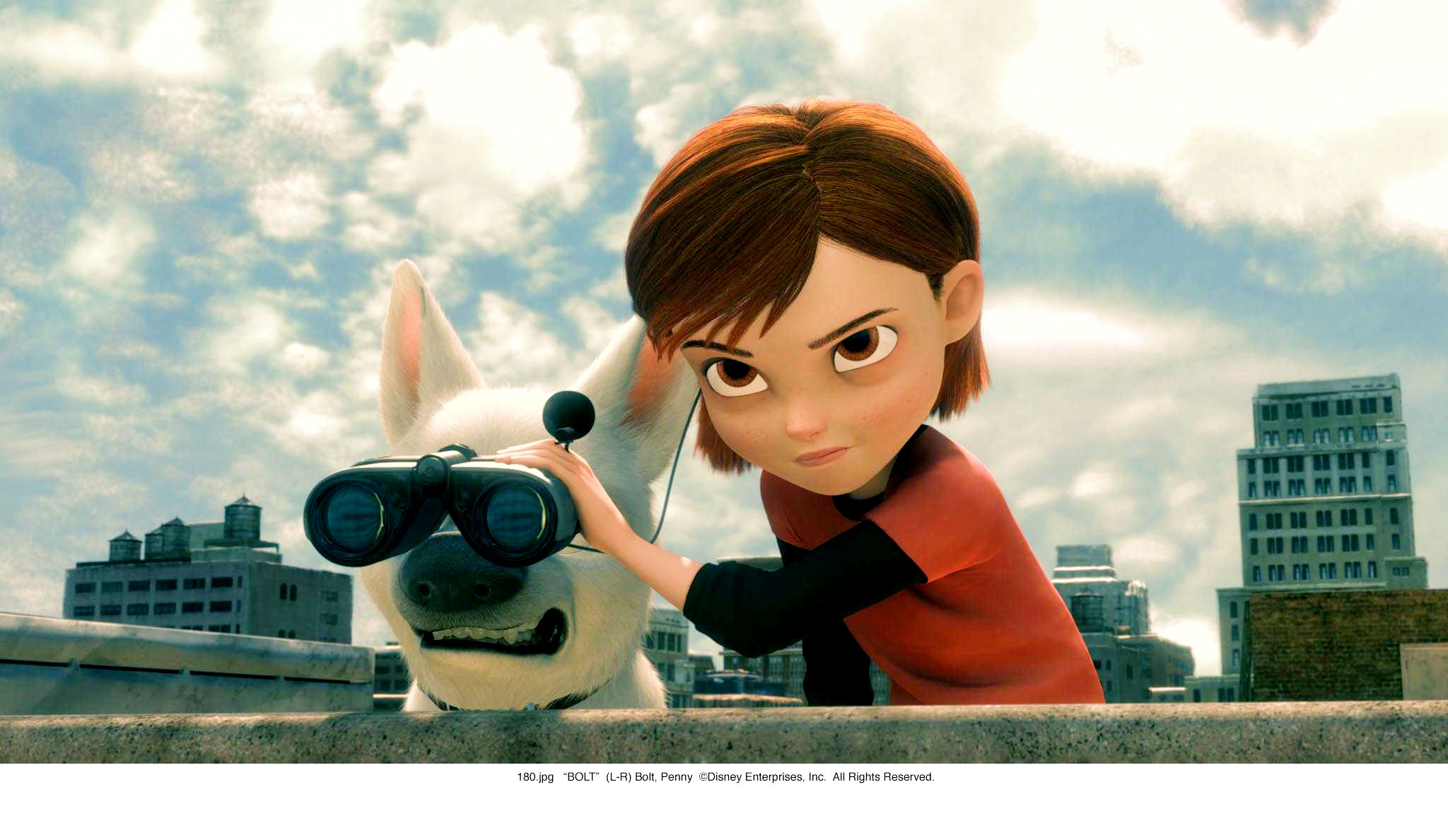 A scene from Walt Disney Pictures' Bolt (2008)