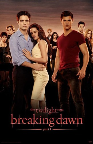 Poster of Summit Entertainment's The Twilight Saga's Breaking Dawn Part I (2011)