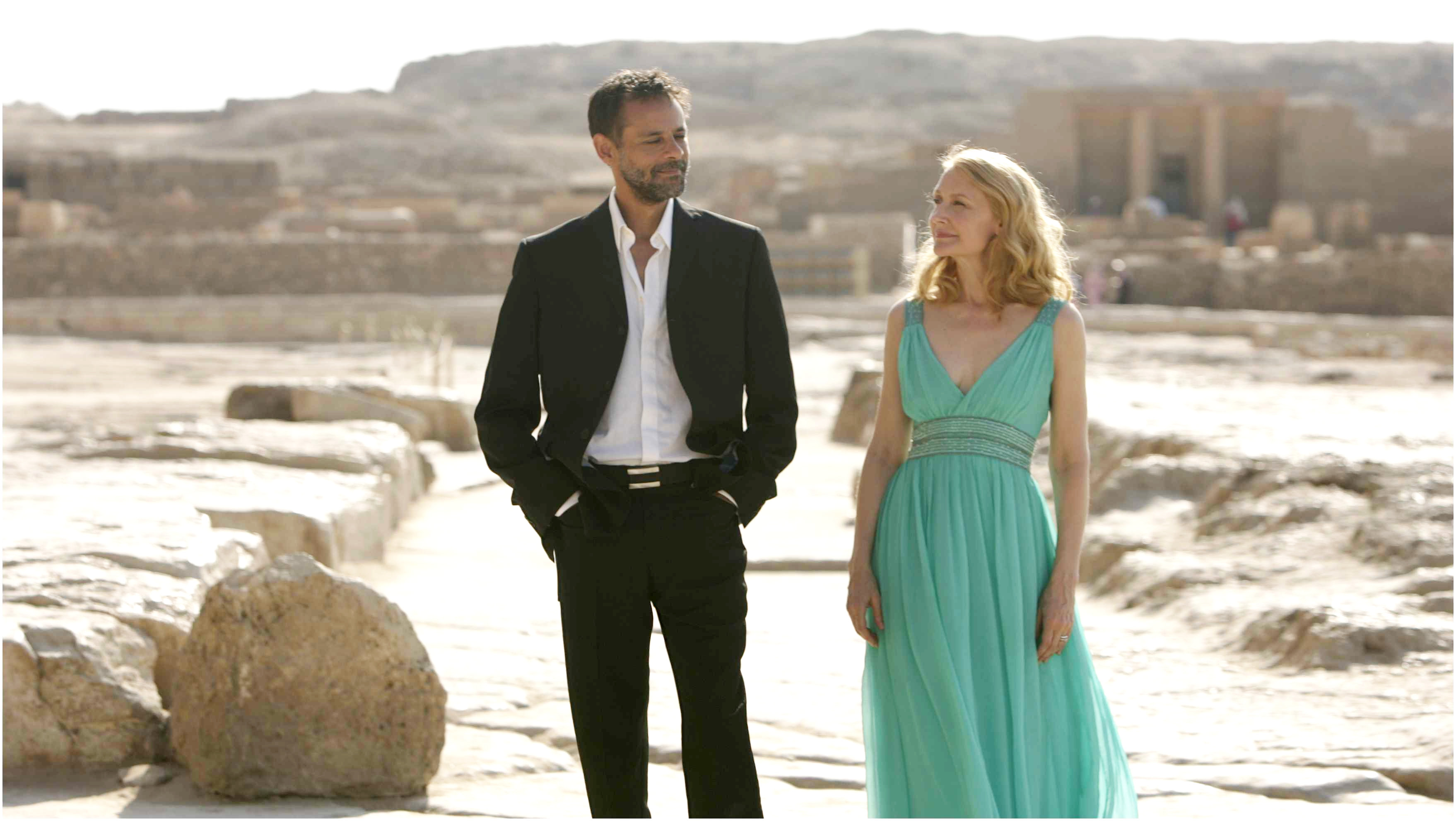 Alexander Siddig stars as Tareq Khalifa and Patricia Clarkson stars as Juliette Grant in IFC Films' Cairo Time (2010)