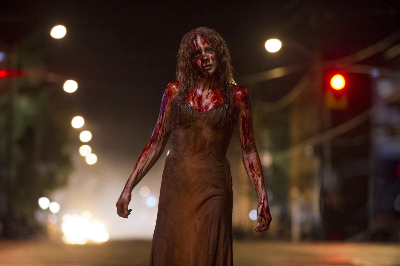 Chloe Moretz stars as Carrie White in Screen Gems' Carrie (2013)