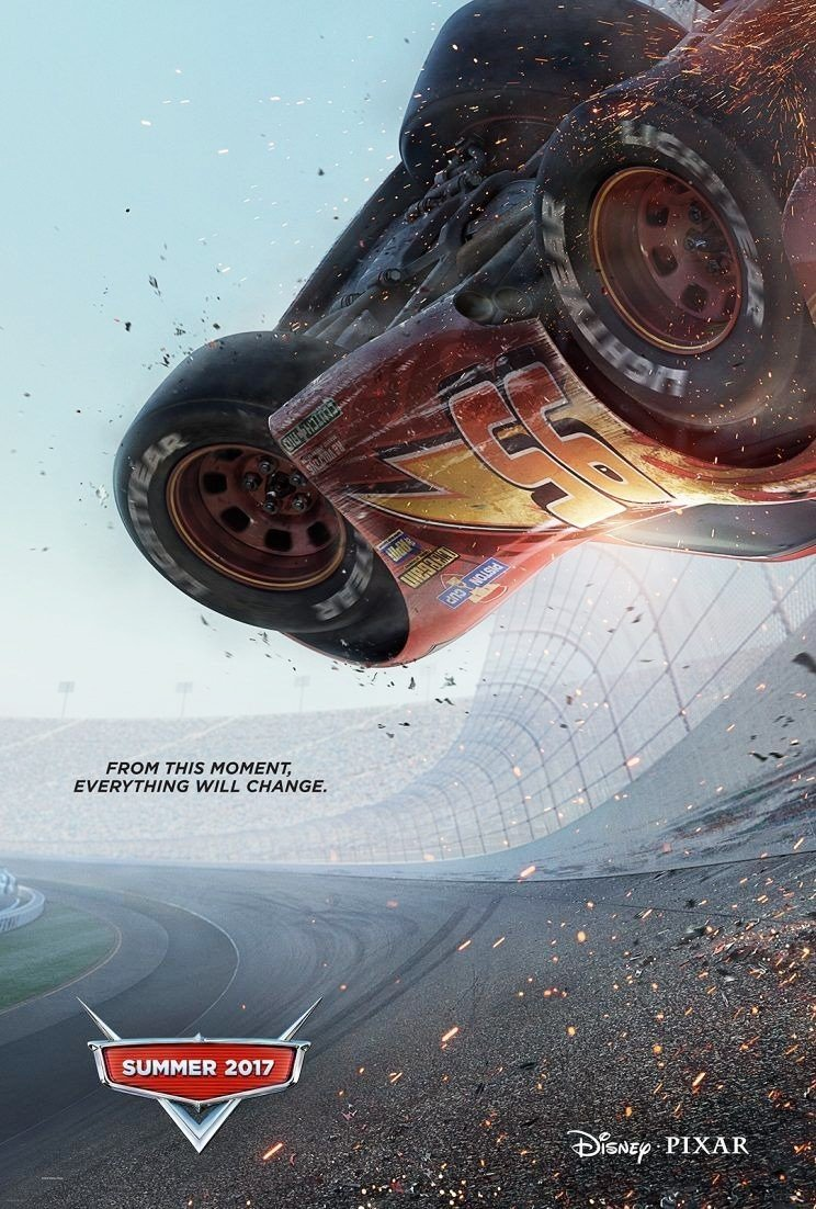 Poster of Walt Disney Pictures' Cars 3 (2017)