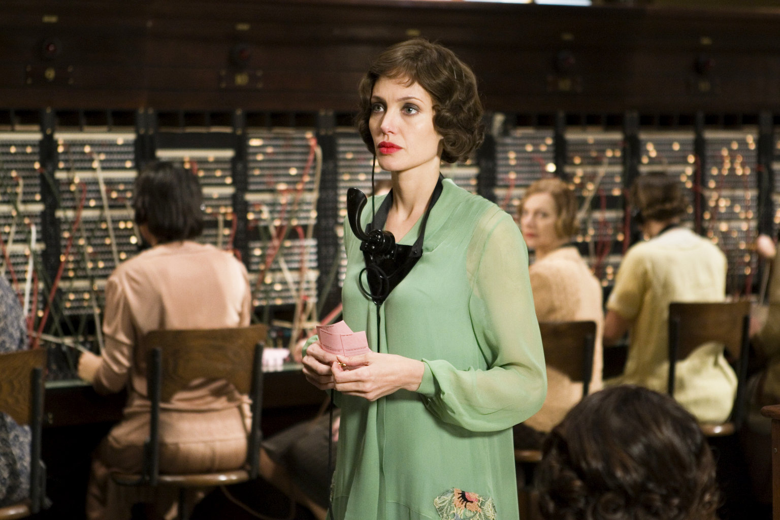 Angelina Jolie stars as Christine Collins in Universal Pictures' Changeling (2008)