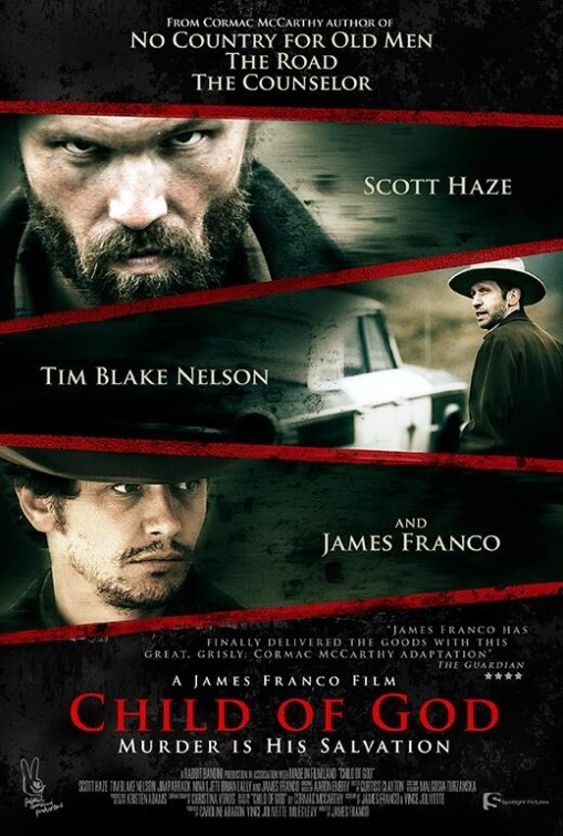 Individual shots of three men looking at the camera - movie poster