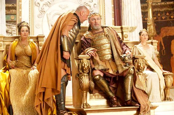 Polly Walker, Vincent Regan and Alexa Davalos in Warner Bros. Pictures' Clash of the Titans (2010)