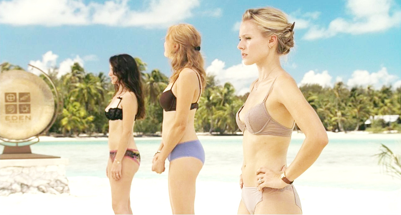 Kristen Bell In Universal Pictures Couples Retreat 2009