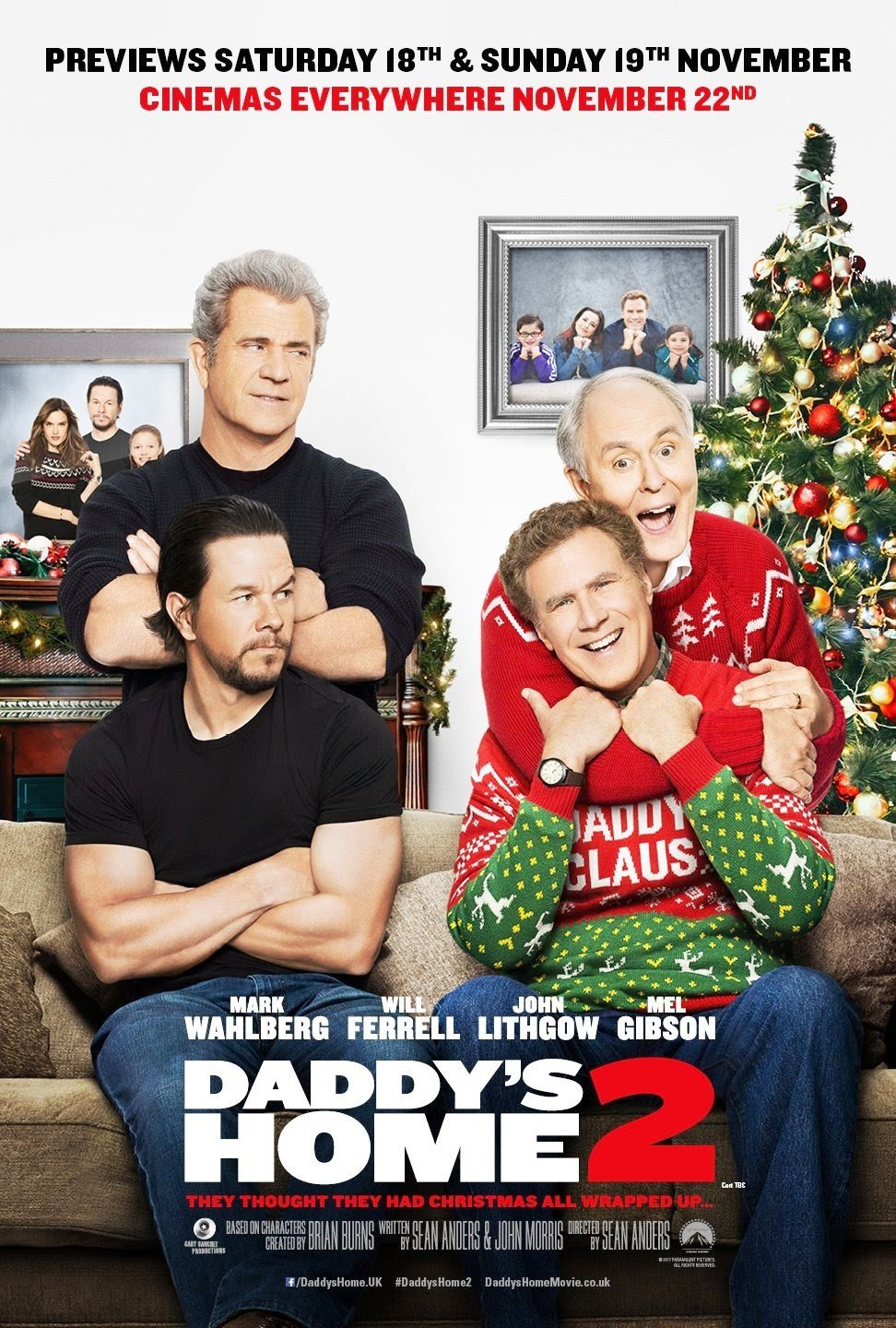 Poster of Paramount Pictures' Daddy's Home 2 (2017)
