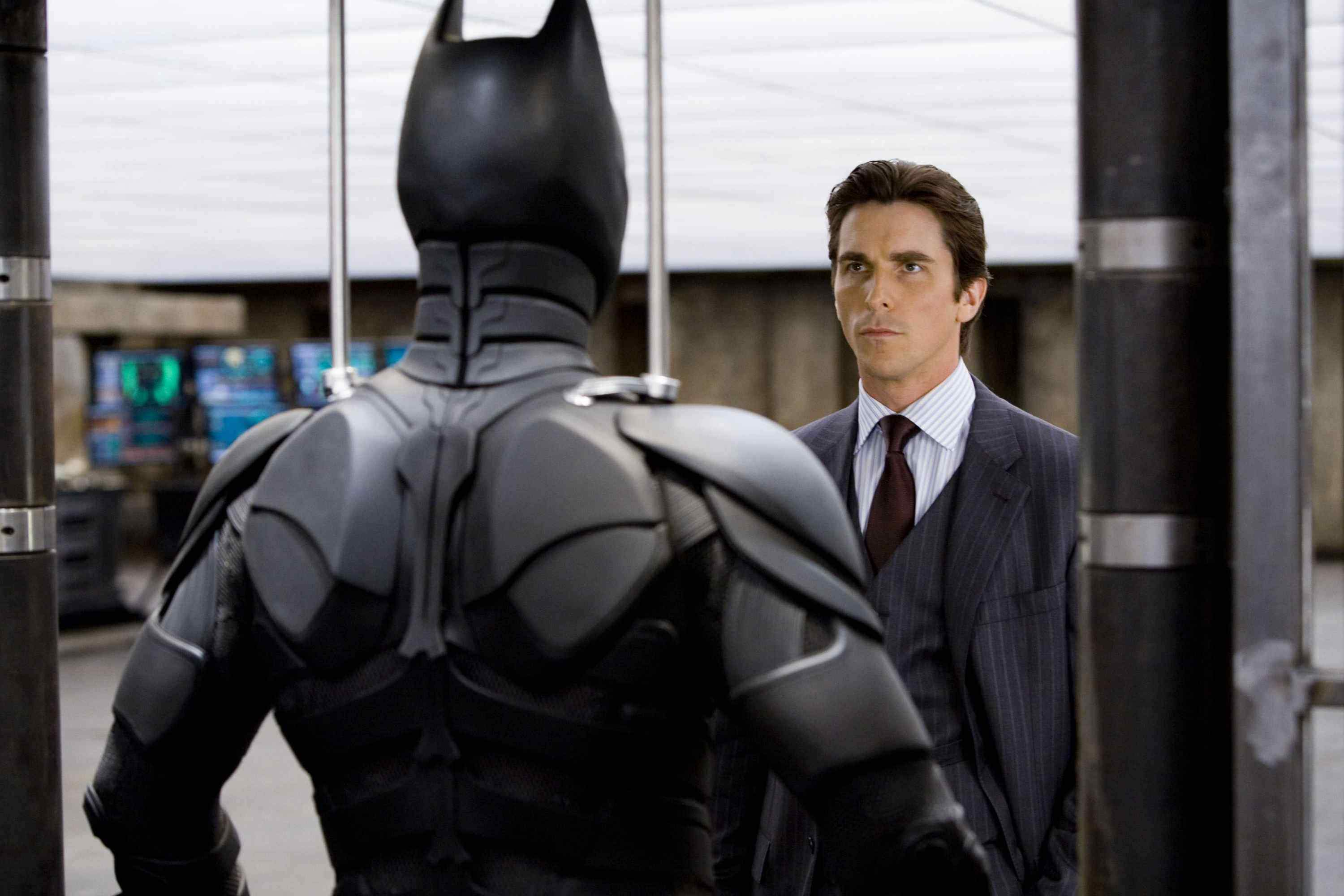 CHRISTIAN BALE stars as Bruce Wayne in Warner Bros. Pictures' and Legendary Pictures' action drama