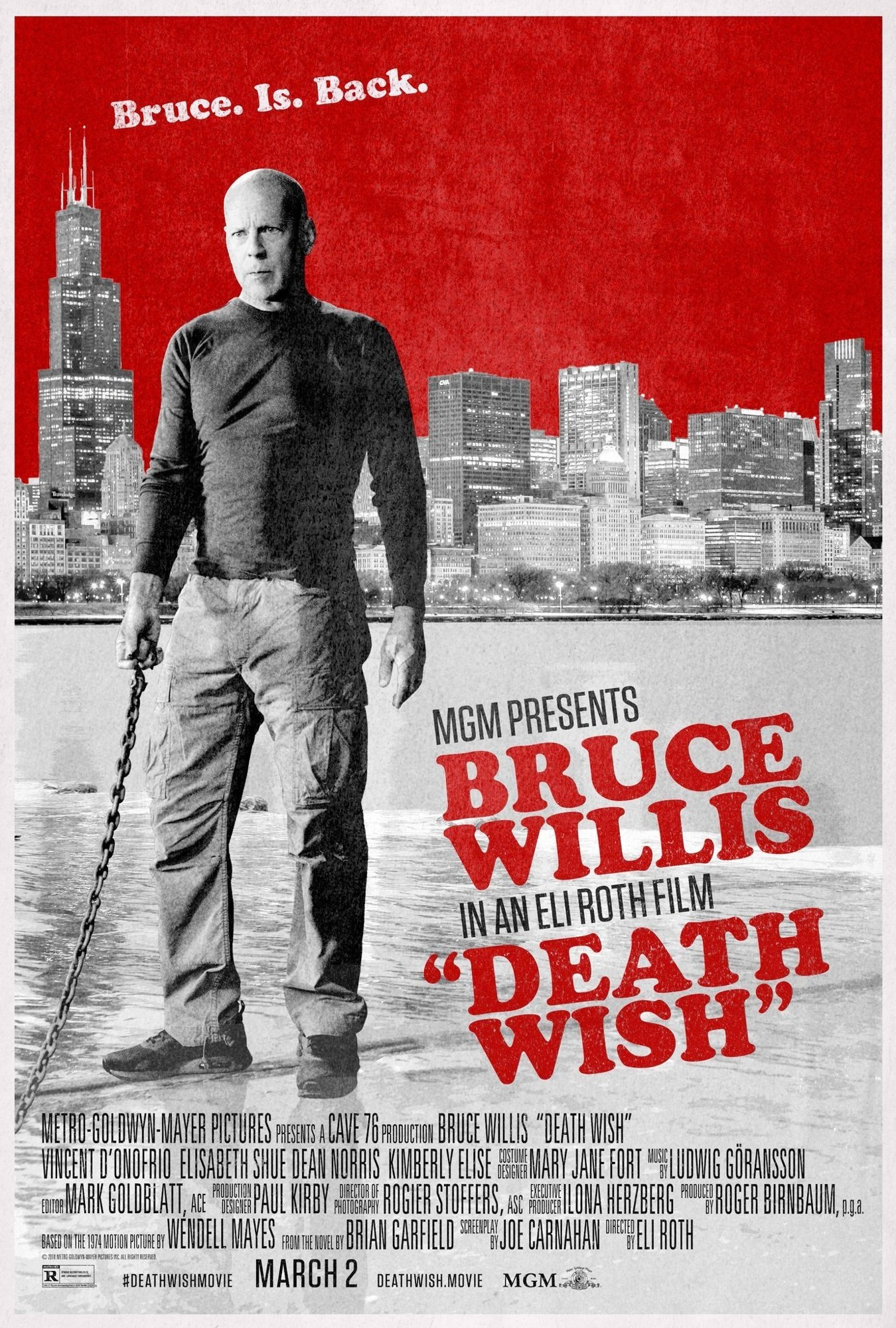 Poster of Annapurna Pictures' Death Wish (2018)