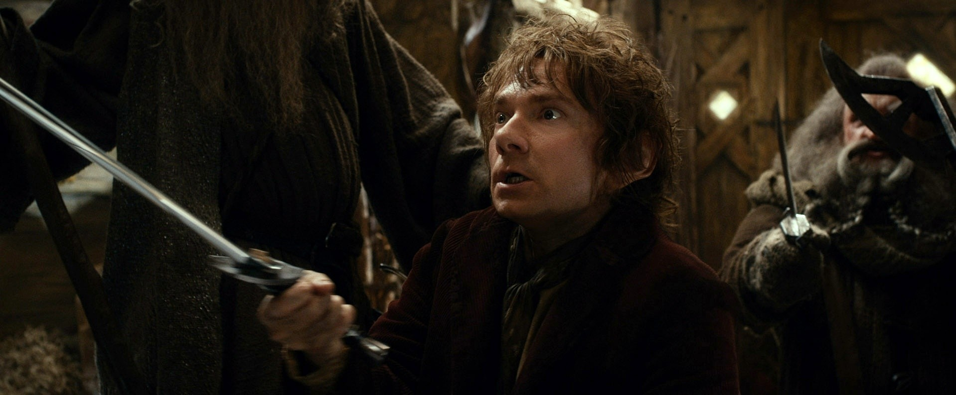 Martin Freeman stars as Bilbo Baggins in Warner Bros. Pictures' The Hobbit: The Desolation of Smaug (2013)